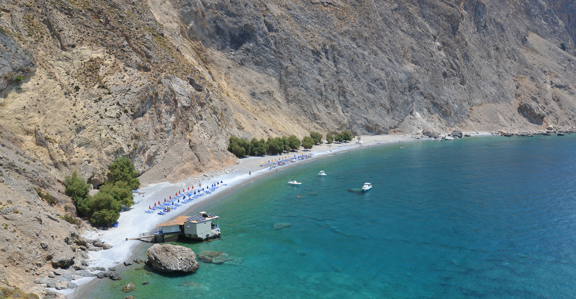 Glika Nera Beach in Crete