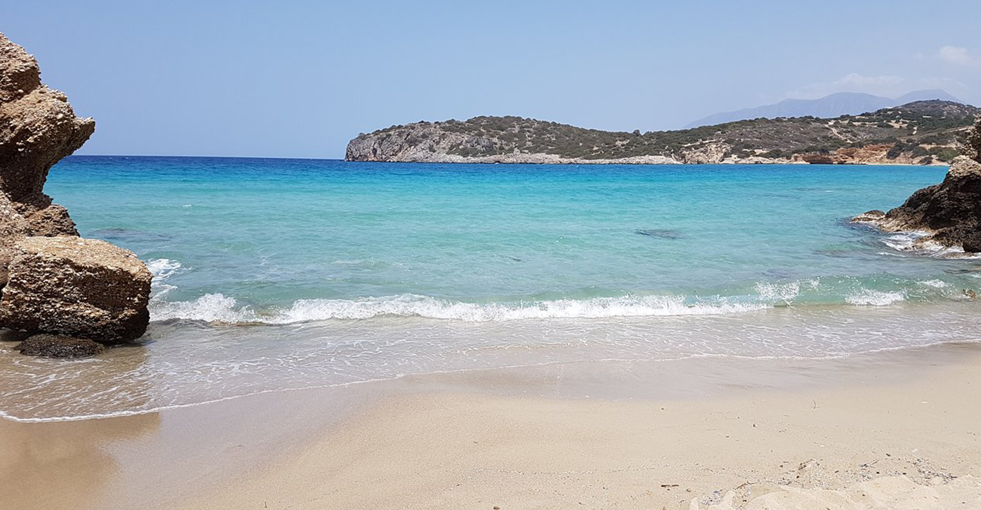 Vulisma beach in crete